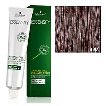 Schwarzkopf Professional Essensity Intense Red Brown Medium 4-88