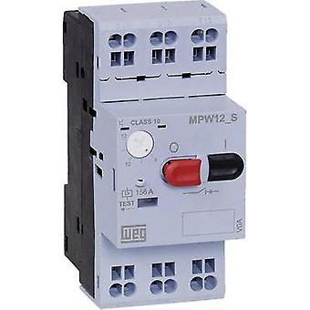 Overload relay adjustable 6.3 A WEG MPW12-3-D063S 1 pc(s)