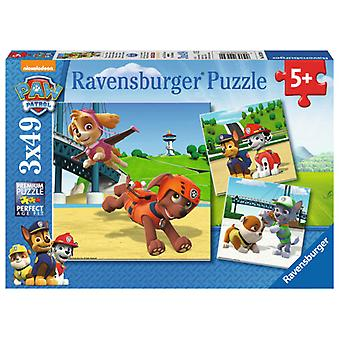 Ravensburger 3X49 Puzzle Paw Patrol (Kids , Toys , Table Games , Puzzles)