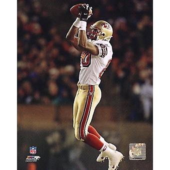 Jerry Rice Action Photo Print
