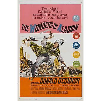 Le meraviglie di Aladino film plakat (11 x 17)