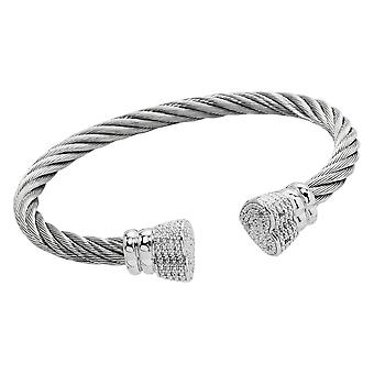 Burgmeister Bangle with Cubic Zirconia JBM3012-521