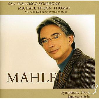 G. Mahler - Mahler: Symfoni No. 3; Kindertotenlieder [SACD] USA importerer