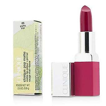Clinique Pop Matte Lip Colour + Primer - # 05 Graffiti Pop - 3.9g/0.13oz