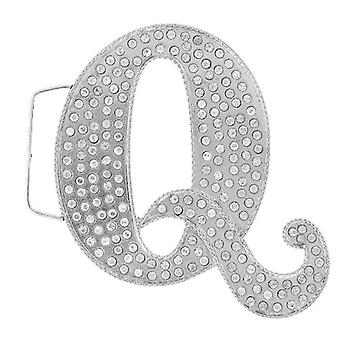 Iced out bling belt - Q