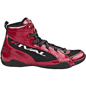 Rival boksning Lo-toppen Guerrero støvler - slik æble rød/sort