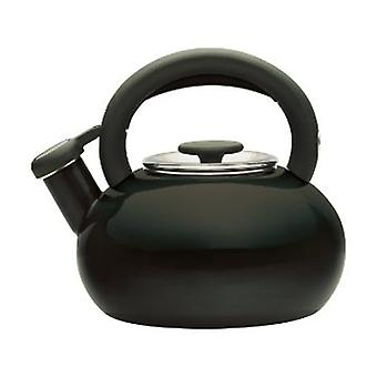 Prestige Enamel Stove Top Kettle 1.4 Litre in Black