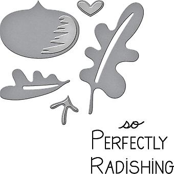 Spellbinders Stamp & Die Set-Perfectly Radishing SDS048