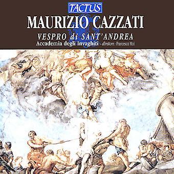 Cazzati / Accademia Degli Invaghiti / Moi - importación de USA de las vísperas de San Andrés [CD]
