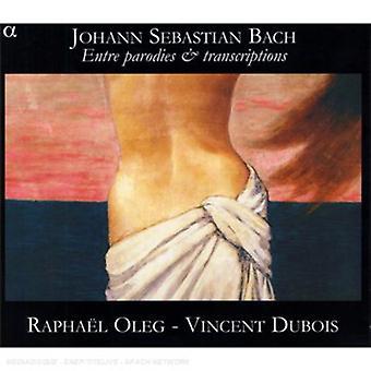 J.S. Bach - Bach: Entre parodier & transskriptioner [CD] USA import