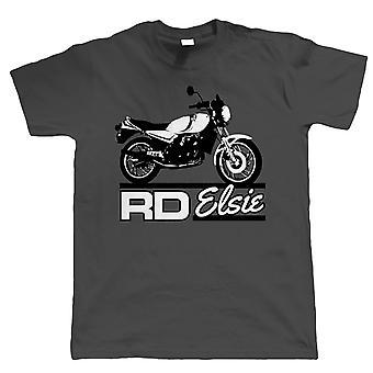 Elsie RD 350 250 LC Biker, Mens T-Shirt