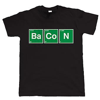 Bacon Periodic Table, Mens Funny T-Shirt