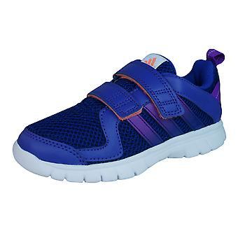adidas STA Fluid 3 CF Girls Trainers / Shoes - Purple