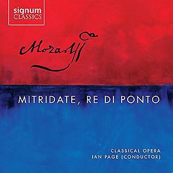 Mozart - recitativerne Re Di Ponto [CD] USA importerer