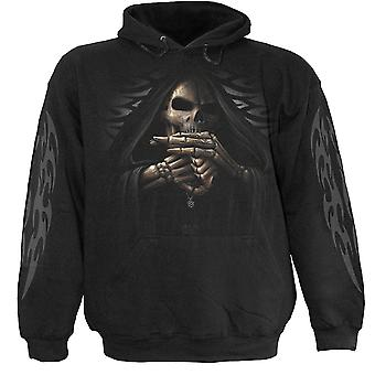 Spiral Direct Gothic BONE FINGER - Hoody Black|Reaper|Skulls