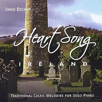 Janie Becker - Heartsong Ireland [CD] USA import