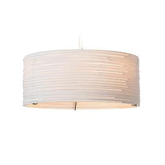 Graypants Drum White Pendant Light 24 inch - E27