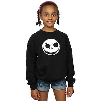 Disney meisjes Nightmare Before Christmas Jack Skellington gezicht Sweatshirt