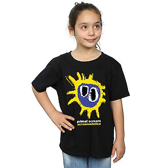 Primal Scream Girls Screamadelica Logo T-Shirt