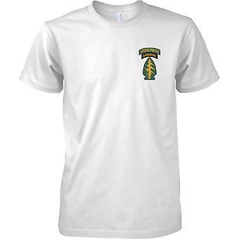Special Forces Airborne Insignia - Green Beret - Delta - Militär - Mens Brust Design T-Shirt