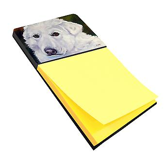 Carolines Treasures  7418SN Great Pyrenees Contemplation Sticky Note Holder