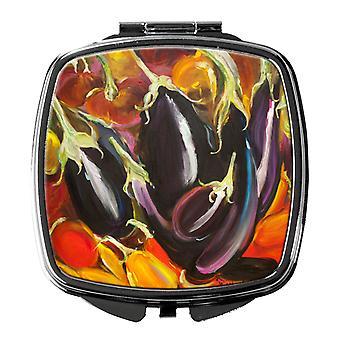 Carolines Treasures  JMK1260SCM Eggplant Compact Mirror