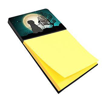 Carolines Treasures  BB2271SN Halloween Scary Briard Black Sticky Note Holder