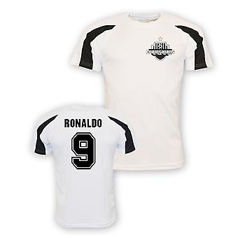 Maillot de formation sport Ronaldo Corinthians (blanc)
