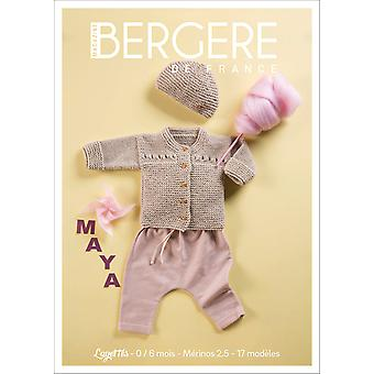 Bergere De France N (degree) 1-Layette 1-6 Months: Merinos 2.5 BF60376