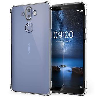 Caseflex Nokia 9 Alpha TPU Gel Case - Clear