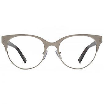 Hook LDN Pagoda Stainless Steel Cateye Glasses In Brown