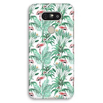 LG G5 Full Print Case - Flamingo leaves