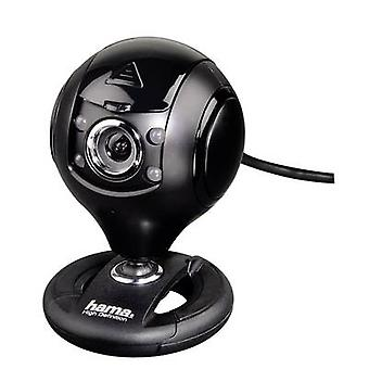 HD webcam 1280 x 1024 pix Hama Spy Protect Stand, Clip mount