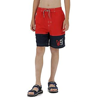 Regatta Boys Shaul Polyester Elasticated Drawcord Swimming Shorts