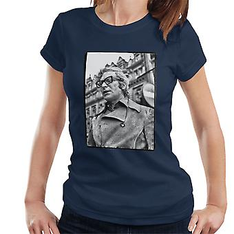 Michael Caine 1971 Get Carter Classic Shot Newcastle Upon Tyne Women's T-Shirt