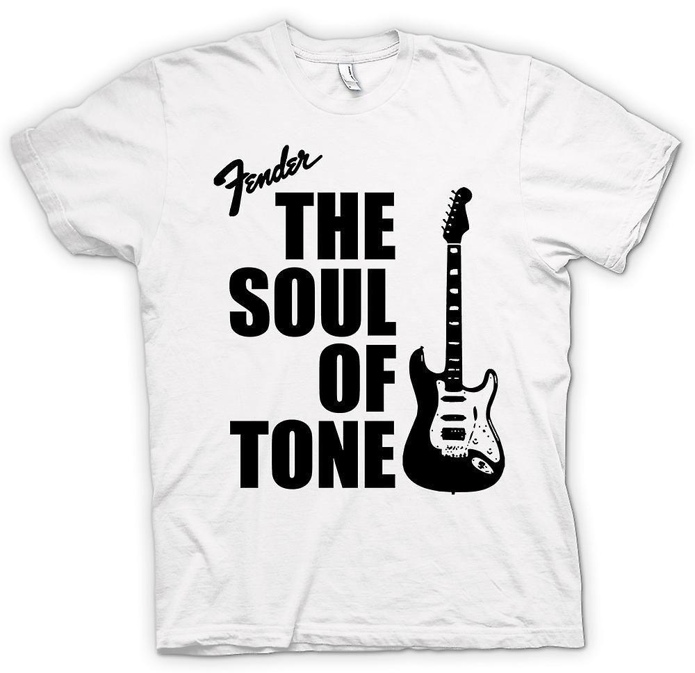 Womens T-shirt - Fender Strat Soul Tone Guitar