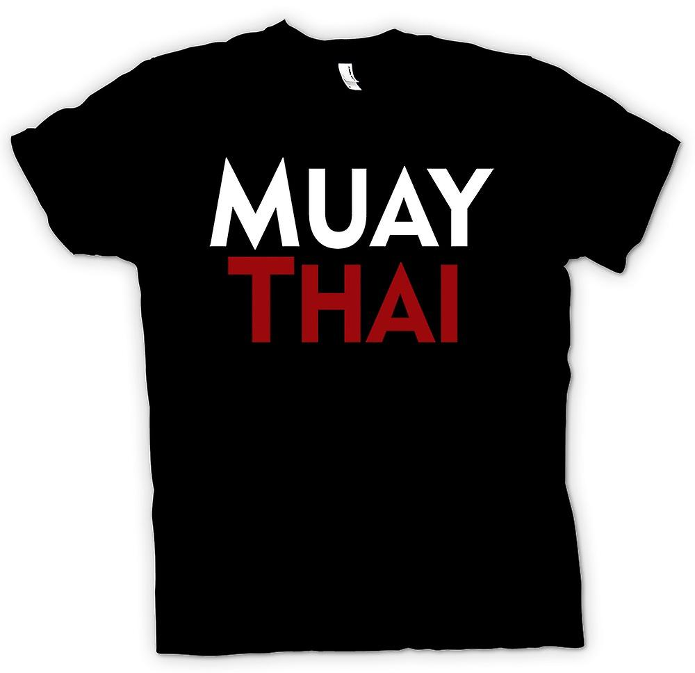 Womens T-shirt - Muay Thai - Martial Art - Slogan