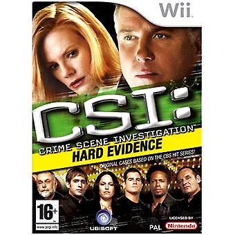 CSI Crime Scene Investigation - harte Beweise (Wii)