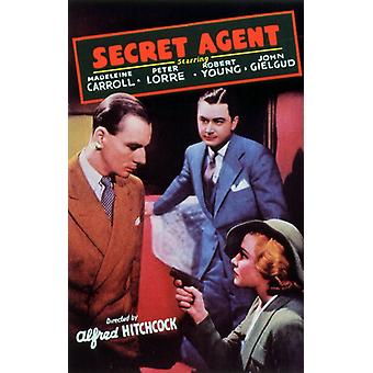 The Secret Agent Movie Poster (11 x 17)