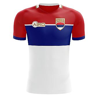 2018-2019 Serbia Away Concept Football Shirt