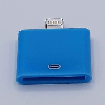30 Pin Naar Lightning compatible (8 Pin) Kabel Adapter - Voor Ipad / iPhone - Blauw
