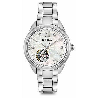 Bulova automático diamante 96 P 181 Watch de Women