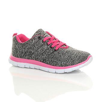 Ajvani damskie zasznurować komfort siłownia buty sportowe trampki zażywają sport