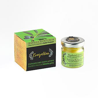 Traditional Beeswax Cream 40ml, With Olive Oil and Calendula. Multi-Purpose.