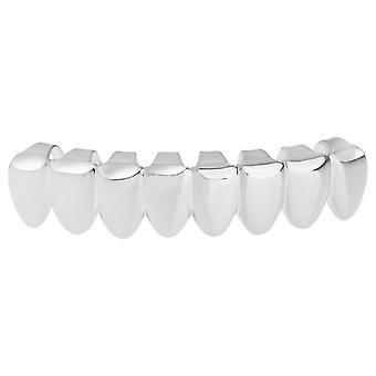 Grillz - silver - one size fits all - 8's BOTTOM TEETH