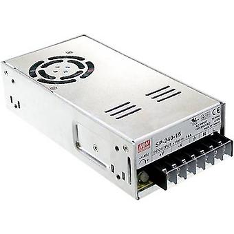 AC/DC PSU module (+ enclosure) Mean Well SP-240-48 48 Vdc 5 A