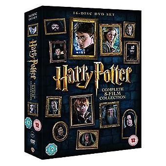 Harry Potter - Complete 8-film Collection [2016] DVD Box Set