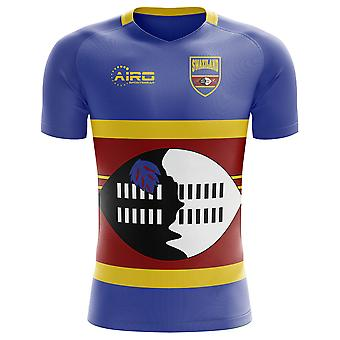 2018-2019 سوازيلند مفهوم الوطن القميص لكرة القدم