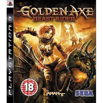 Golden Axe Beast Rider PS3 spel