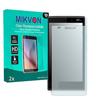 Wiko Ridge 4G Screen Protector - Mikvon Clear (Retail Package with accessories)